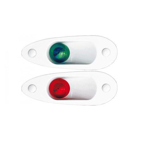 Fény ledes oldal zöld és piros süllyesztett GFN