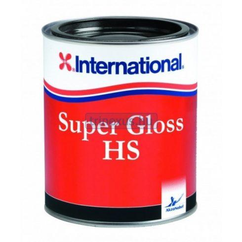 International Super Gloss HS fekete 0,75 l