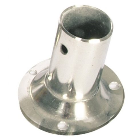 Korláttalp függőleges inox 60 mm EVA