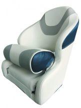 Ülés Flip-up Sport fehér-kék-szürke DAW