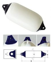 Fender Eval 15,5 x 58 cm fehér kék véggel