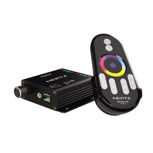 Hertz HM RGB1 BK LED vezérlő Hertz HMX sorozatú hangszórókhoz