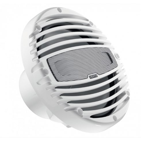 Hertz HMX 8 LD fehér 20 cm-es koaxiális hangszóró RGB LED világítással