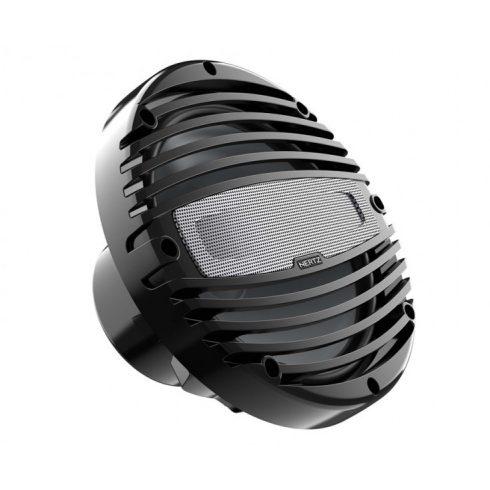 Hertz HMX 8 LD-C fekete 20 cm-es koaxiális hangszóró RGB LED világítással