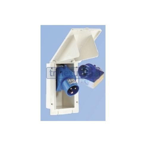 Beépíthető elektromos csatlakozó 220 V CEE