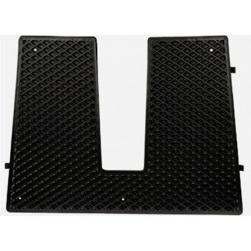 Rezgéscsillapító fartükörre műag fekete 430x324 mm SCR