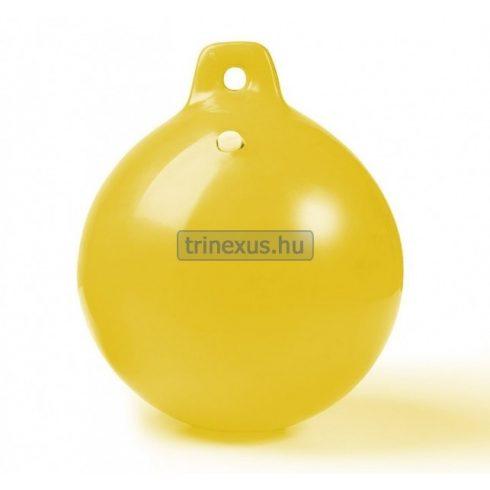 Bója jelölő gömb sárga átmérő 23 cm CTR