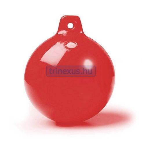Bója jelölő gömb piros átmérő 15 cm CTR