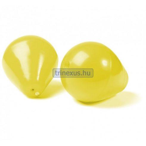 Bója jelölő körte sárga átmérő 15 cm CTR