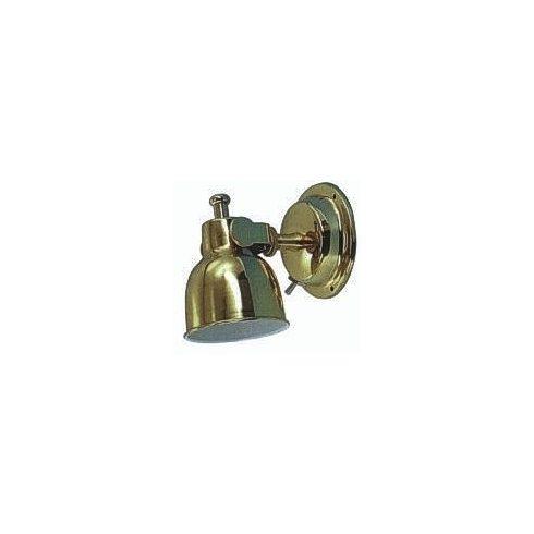 Kabinfény réz, falikar deluxe 75 mm LIN