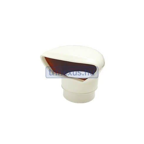 Szellőzőpipa lapos fedéllel műag 100 mm LIN