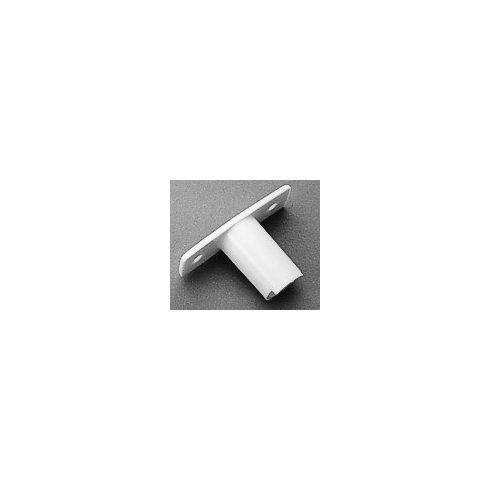 Evezővilla talp műag fehér átmenő 19mm LIN