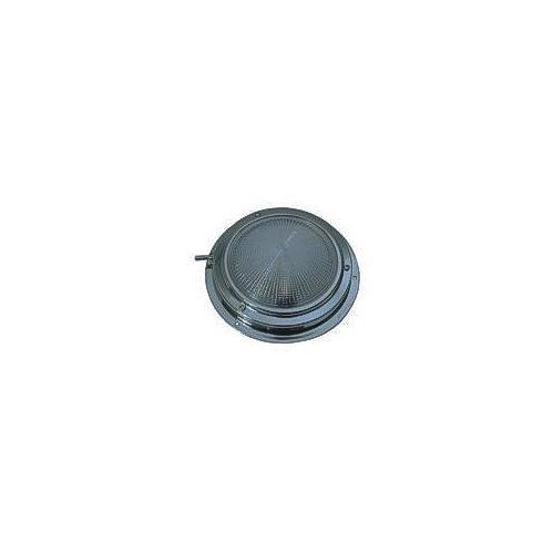 Kabinfény kapcsolóval inox lapos 140 mm LIN