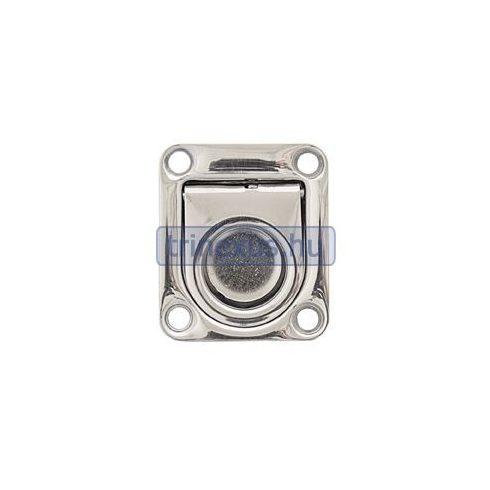 Fedélnyitó retesz rugós inox 57x76 mm LIN