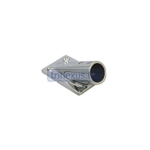 Korláttalp 30 fok 22 mm inox LIN