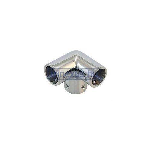 Korlátcsatlakozó hármas idom 25 mm inox LIN