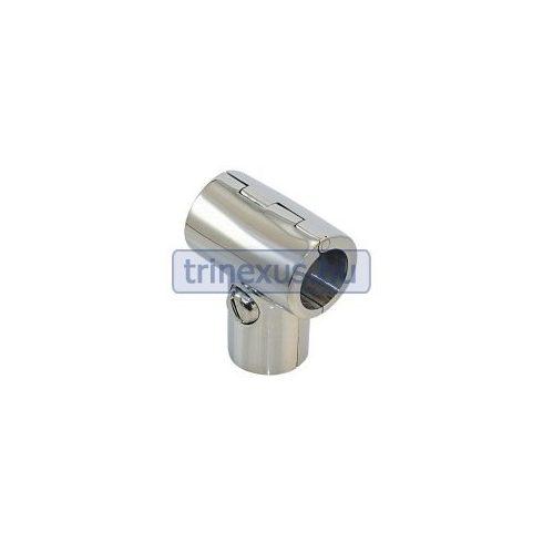 Korlátcsatlakozó nyitható T idom 90 fok 22 mm inox LIN