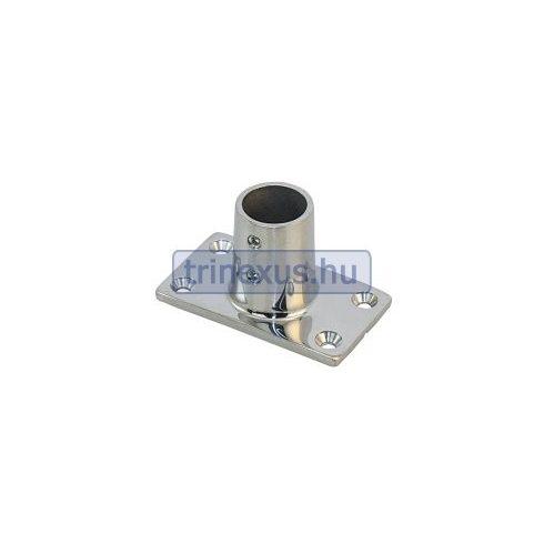 Korláttalp 90 fok 25 mm inox LIN