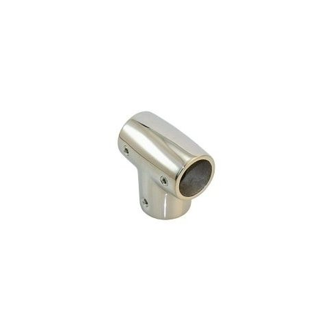 Korlátcsatlakozó T idom 90 fok 25 mm inox LIN