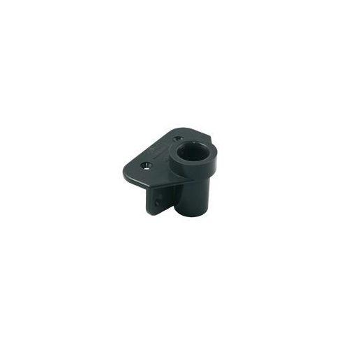 Evezővilla talp műag fekete oldalra 19 mm LIN