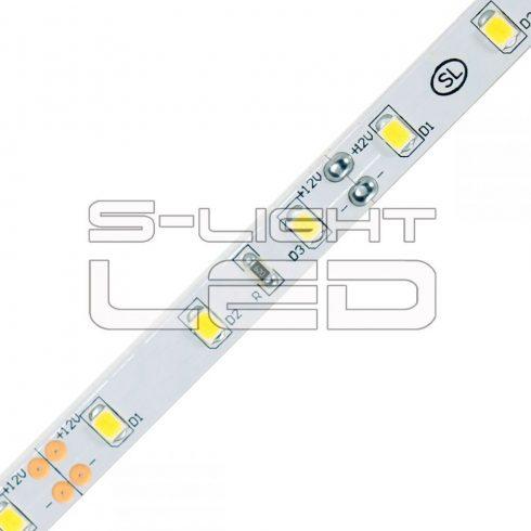SL-3528WU60 S-LIGHTLED SZALAG 60 LED/méter szilikon bevonat 3000K IP65