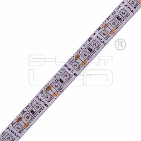 SL-3528WU120 S-LIGHTLED SZALAG 120 LED/méter szilikon bevonat PIROS IP65