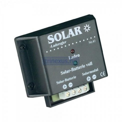 Töltésvezérlő 12 V-os napelemes rendszerekhez 4 A ENC
