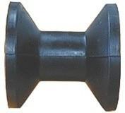 Trailer orrgörgő fekete szögletes 75 mm