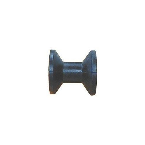Trailer orrgörgő fekete szögletes 75 mm LIN