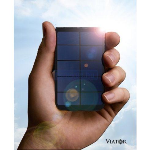 Viator Slim univerzális napelemes/USB töltő