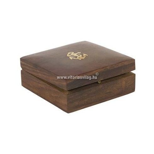 Doboz fa tároló 10,5 cm VVL