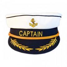 Sapka kapitányi felnőtt állítható