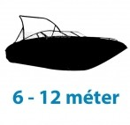 6 - 12 méter közötti hajótest